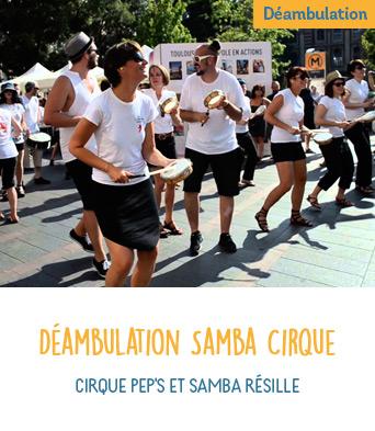 Déambulation Samba Cirque