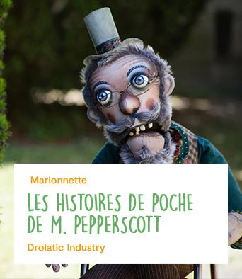 Les histoires de poche de M. Pepperscott